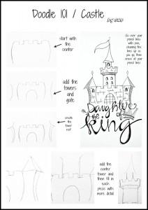 BAJ:Doodle101:Castle: Sue Carrollpm