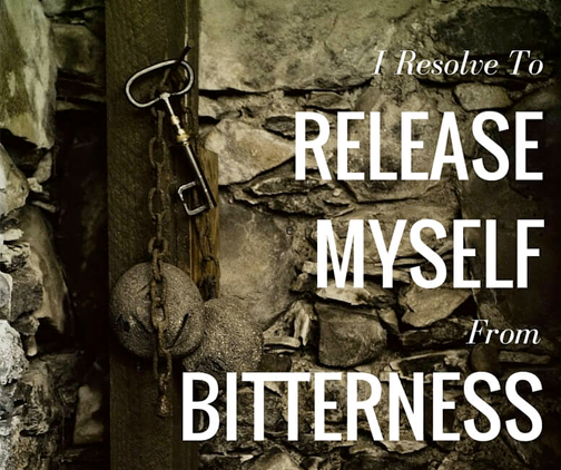 release myself from bitterness