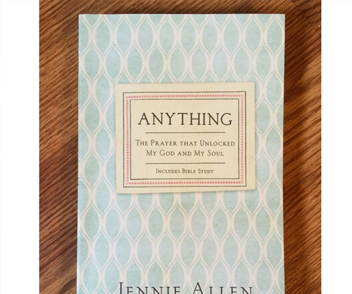 Anything book