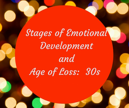 stage of emotional development and age of loss