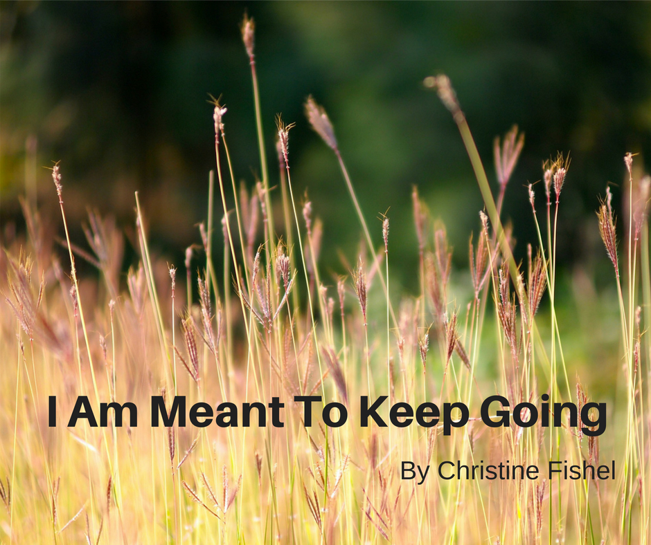 I am meant to keep going