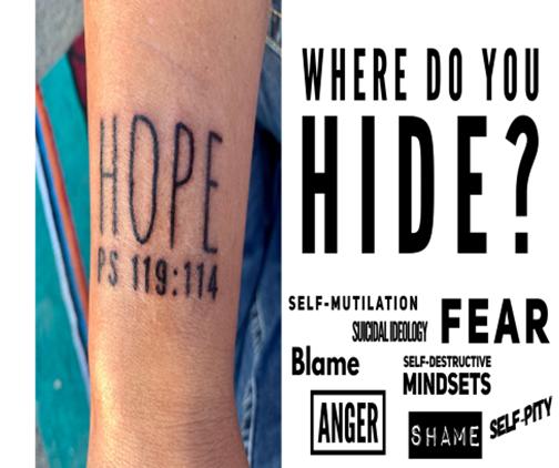 Where do you hide